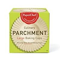 paperchef 70060culinary parchment 烤杯,大号 天然 60-Cups Large