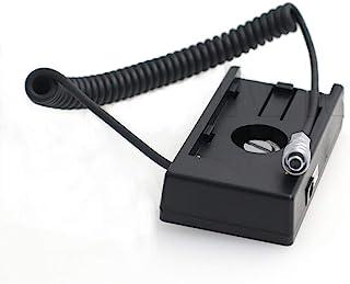 Eonvic F970 电池安装板电源线 12V 适用于 Blackmagic Pocket Cinema 相机 4K BMPCC