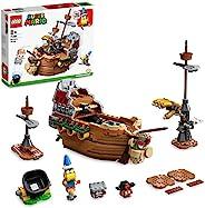 LEGO 乐高 71391 超级马里奥 库巴的飞艇扩展套装,儿童可搭建游戏玩具,带 3 个公仔