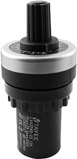 LQ Industrial 10k 电位器 LA42DWQ-22 10k ohm 变速驱动电位器 22 mm VSD 旋转电阻变频器