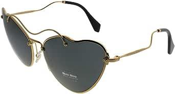 Miu Miu MU55RS 7OE1A1 金色 MU55RS 猫眼太阳镜镜片类别 3 尺寸 65m