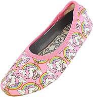 Beck 女童彩虹体操鞋