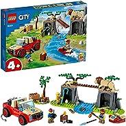 LEGO 乐高 60301 City Wildlife 动物救援车 玩具车 4 岁以上 越野车