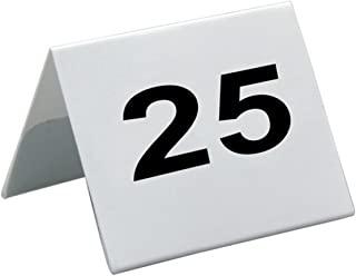 Garcia de Pou 桌子编号 PVC 26 至 50,5 x 3.6 厘米,白色,均码