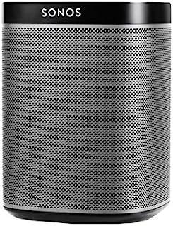 Sonos Play:1 智能音箱(紧凑而强大的WLAN扬声器,可尽情播放音乐-防潮多室扬声器) ,黑色