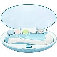 电动婴儿*锉带灯,*婴儿*修剪器 - 电动*剪套装,带 6 个磨头,适用于新生儿幼儿幼儿幼儿、儿童脚趾和手指