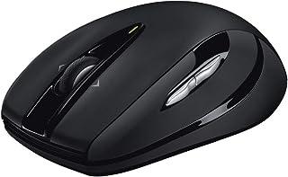 ロジクール ワイヤレスマウス 無線 マウス M546BD Unifying 7ボタン ワイヤレス 小型 電池寿命最大18ケ月 windows M546 ダークナイト 国内正規品 3年間無償保証