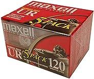 Maxell 音频盒 正常偏差 UR 120 个 IEC 类型 EQ 120 件 5 件