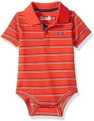Under Armour Baby-Boys Newborn Yarn Dye Polo Bodysuit