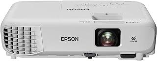 Epson 爱普生 EB-W06 3LCD,HD Ready,3700流明,320英寸显示屏,内置扬声器,WXGA 投影仪 - 白色