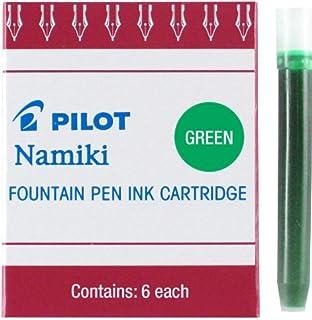 Pilot Namiki IC50 钢笔墨盒 6片装 绿色