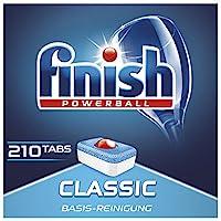 Finish Classic 洗碗机用洗涤片,大包装/210片