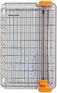 Fiskars 9 英寸 SureCut 剪紙機 (154460-1007)