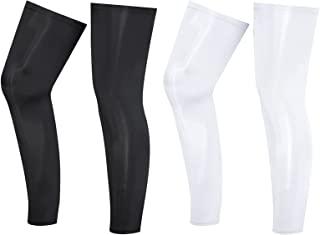 2 双 UV 长袖户外男女*压缩腿套,适用于跑步篮球足球骑行