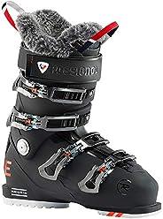 Rossignol Pure Elite 120 女士滑雪鞋,柔软黑色,23.5