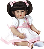 "Adora 幼童娃娃""Let`s Celebrate"",Baby 20"" 女孩加权娃娃礼品套装 6 个可拥抱的乙烯基可"