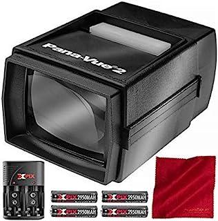 Pana-Vue 2 发光幻灯片查看器 + 电池和充电器套件豪华套装