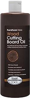 Furniture 诊所矿物油 用于砧板 - 食品级矿物油保护和修复砧板、砧板和台面 透明 17 盎司 CBO17OZ