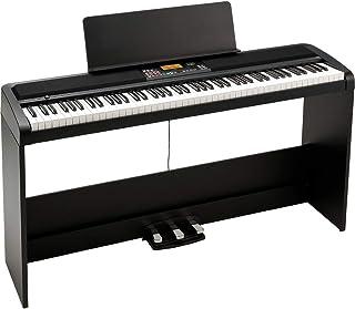 Korg XE20SP 数字合奏钢琴和支架 带自动伴奏 - 黑色