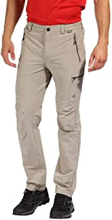 Regatta 男式 Highton 防水多口袋活动徒步裤