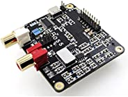 BOSS I2S DAC V 1.2 *的 384 kHz/32 位 DAC PCM5122 提供*佳音质。兼容 RPI 2、RPI 3 和 Rpi4