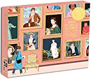 Galison Herstory 博物馆拼图,1,000 片 - 拼图采用Ana San Jose许可的艺术品,带有闪亮、铝箔装饰 - 厚实、坚固的拼块,很棒的礼物创意,多色,20 x 27 英寸(约 50.8 x 68