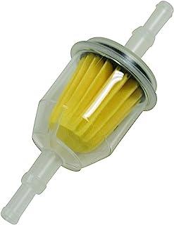 Ratioparts 燃料过滤器,汽油过滤器直径7.4/8.4毫米,白色黄色
