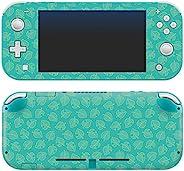 控制器装备正品和官方*动物交叉:New Horizons - Teal Leaves - Nintendo Switch Lite Skin - Nintendo Switch