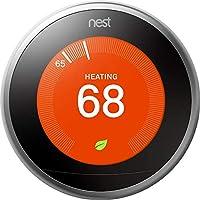 Nest T3008US 学习*三代恒温器(专业版)