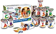 Learning Resources 字母汤分类器,学习早期语音,ABC,字母意识以及识别,208件,适合3岁以上的人群,多色,长3 x 宽4-1 / 4 英寸(约7.62厘米 x 10.80厘米)