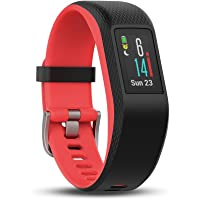 Garmin 佳明 Vivosport 智能活动追踪器,带腕部心率和 GPS - 粉色 (粉红色), 小号