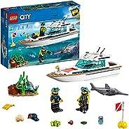 LEGO 乐高 拼插类玩具 LEGO City 城市组系列 阳光潜水游艇 60221 5岁+ 积木玩具