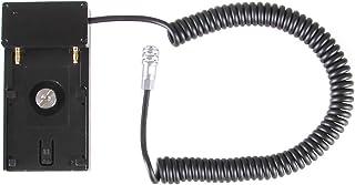JLWIN 电池电源安装适配器板电缆适用于 BMPCC 4K 6K 相机至索尼 NP-F970 / F960 / F770 / F750 电池带弹簧线