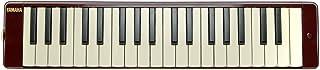雅马哈钢琴 37 键,3 个八个,从f 到 f3,重量:790g,包括吹嘴,延伸管套装和便携盒,深红色