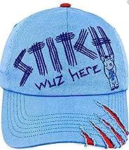 Disney Parks 儿童棒球帽 - 针织 Wuz Here 蓝色,红色