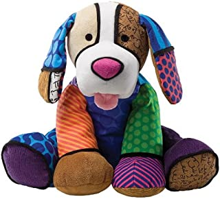 Enesco 举世闻名艺术家 Romero Britto 出品的大号小狗毛绒玩具