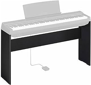 Yamaha雅马哈 L-125B 数码钢琴支架,黑色 – 坚固耐用且简约的设计 – 适用于雅马哈数码钢琴 P-125