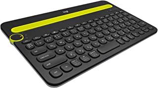 LOGICOOL Bluetooth マルチデバイス キーボード 黑