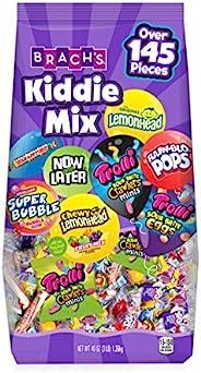 Brach's Kiddie Mix 多種包裝獨立包裝糖果,40 盎司(約 1.3