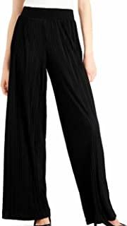 Alfani Plissé 百褶裤,深黑色 M 码