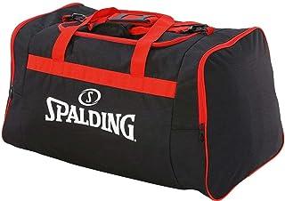 Spalding 中性队包, 黑色(黑色 / Rojo)。, 25 cm, 运动包