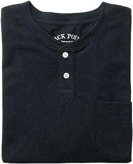[Seshiel] *棉 亨利领T恤(长袖) JK-593 男式