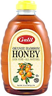 Galil Natural Orange Blossom Honey, 32-Ounce Jars (Pack of 2)