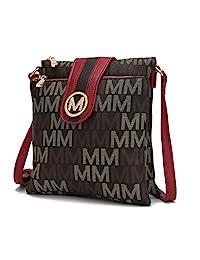 女士斜挎包顶部拉链隔层 'Ä¢肩挎包 √ MKF 系列签名设计