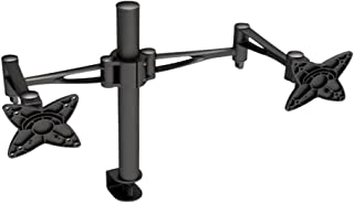 OSD Audio TSM-T9 Home and Office Dual Arm Desk Mount for Dual 13-inch to 23-inch Monitors