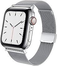 TACA-H 兼容 Apple Watch 表带 44 毫米 42 毫米 40 毫米 38 毫米,不锈钢替换 iWatch 表带,适用于 6/SE/5/4/3/2/1 系列