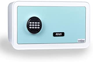 AEGIS 保险箱*锁盒 数码酒店保险柜 带电子键盘 钢质保险箱 小柜 可收纳现金、首饰、枪支、贵重物品