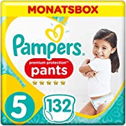 Pampers 幫寶適 Premium Protection 紙尿褲,Gr.5 Junior,12-17kg,一個月量,1包(1 x 132片)