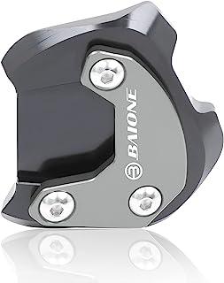 BAIONE 支架延长垫替换件适用于本田 Rebel CMX300 CMX500 2017-2020 摩托车铝制延长器脚侧支架放大板