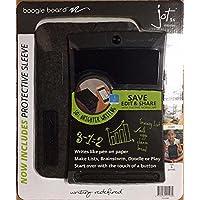Boogie Board 8.5 Jot 英寸 LCD 书写平板电脑超值套装,氯丁橡胶套和手写笔-黑色